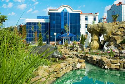 Оздоровительный комплекс на Черном море (фото)